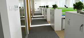 200平米办公室装修不用愁,学沃空间这么做,美观又大气!
